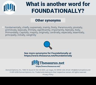 foundationally, synonym foundationally, another word for foundationally, words like foundationally, thesaurus foundationally