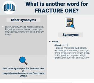 fracture one, synonym fracture one, another word for fracture one, words like fracture one, thesaurus fracture one