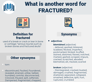 fractured, synonym fractured, another word for fractured, words like fractured, thesaurus fractured
