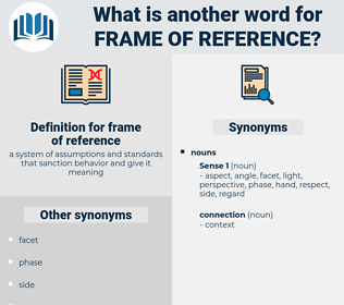 frame of reference, synonym frame of reference, another word for frame of reference, words like frame of reference, thesaurus frame of reference