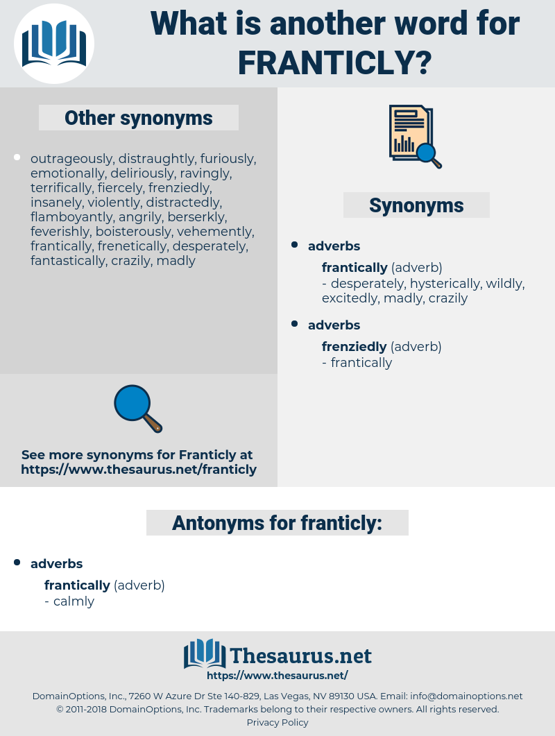 franticly, synonym franticly, another word for franticly, words like franticly, thesaurus franticly