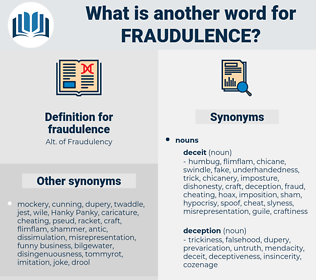 fraudulence, synonym fraudulence, another word for fraudulence, words like fraudulence, thesaurus fraudulence