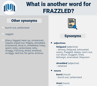 Frazzled, synonym Frazzled, another word for Frazzled, words like Frazzled, thesaurus Frazzled