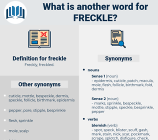 freckle, synonym freckle, another word for freckle, words like freckle, thesaurus freckle