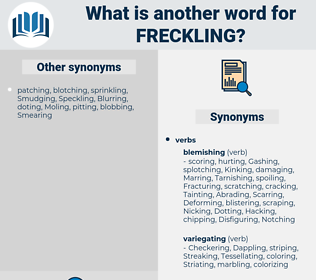 Freckling, synonym Freckling, another word for Freckling, words like Freckling, thesaurus Freckling