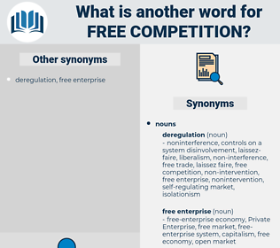 free competition, synonym free competition, another word for free competition, words like free competition, thesaurus free competition