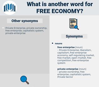 free economy, synonym free economy, another word for free economy, words like free economy, thesaurus free economy