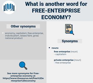 free-enterprise economy, synonym free-enterprise economy, another word for free-enterprise economy, words like free-enterprise economy, thesaurus free-enterprise economy