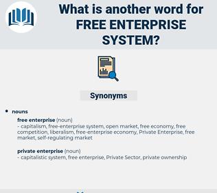 free-enterprise system, synonym free-enterprise system, another word for free-enterprise system, words like free-enterprise system, thesaurus free-enterprise system
