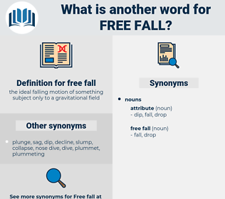 free fall, synonym free fall, another word for free fall, words like free fall, thesaurus free fall