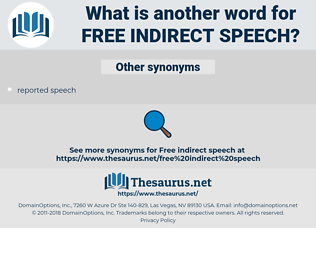 free indirect speech, synonym free indirect speech, another word for free indirect speech, words like free indirect speech, thesaurus free indirect speech