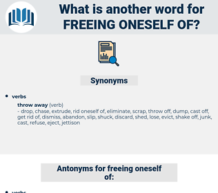 freeing oneself of, synonym freeing oneself of, another word for freeing oneself of, words like freeing oneself of, thesaurus freeing oneself of