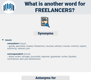 Freelancers, synonym Freelancers, another word for Freelancers, words like Freelancers, thesaurus Freelancers