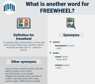 freewheel, synonym freewheel, another word for freewheel, words like freewheel, thesaurus freewheel