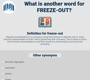 freeze out, synonym freeze out, another word for freeze out, words like freeze out, thesaurus freeze out