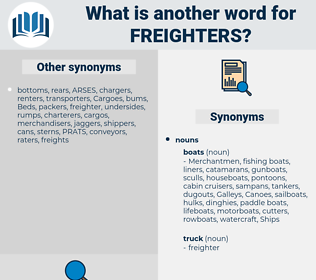 freighters, synonym freighters, another word for freighters, words like freighters, thesaurus freighters