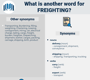 Freighting, synonym Freighting, another word for Freighting, words like Freighting, thesaurus Freighting