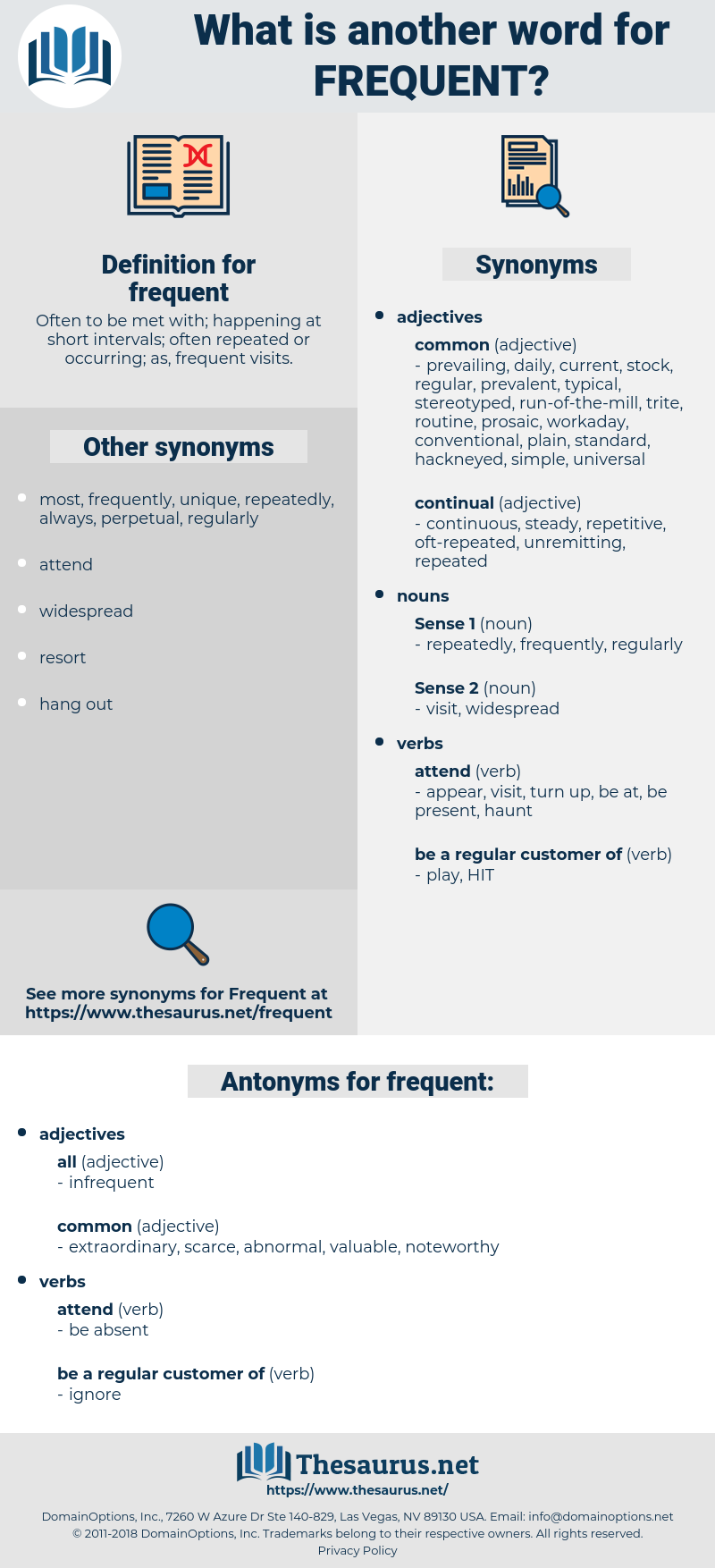 frequent, synonym frequent, another word for frequent, words like frequent, thesaurus frequent