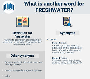 freshwater, synonym freshwater, another word for freshwater, words like freshwater, thesaurus freshwater