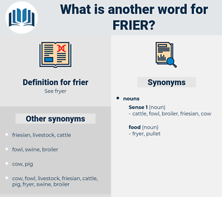 frier, synonym frier, another word for frier, words like frier, thesaurus frier