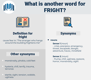 fright, synonym fright, another word for fright, words like fright, thesaurus fright