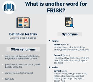 frisk, synonym frisk, another word for frisk, words like frisk, thesaurus frisk