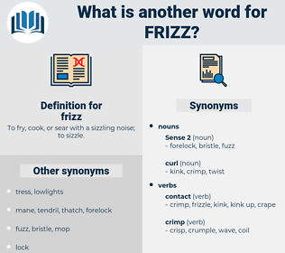 frizz, synonym frizz, another word for frizz, words like frizz, thesaurus frizz