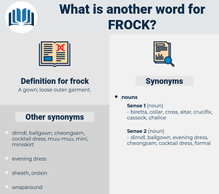 frock, synonym frock, another word for frock, words like frock, thesaurus frock