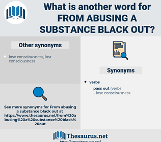 from abusing a substance black out, synonym from abusing a substance black out, another word for from abusing a substance black out, words like from abusing a substance black out, thesaurus from abusing a substance black out