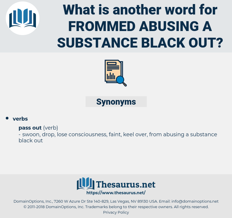 frommed abusing a substance black out, synonym frommed abusing a substance black out, another word for frommed abusing a substance black out, words like frommed abusing a substance black out, thesaurus frommed abusing a substance black out