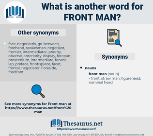front man, synonym front man, another word for front man, words like front man, thesaurus front man