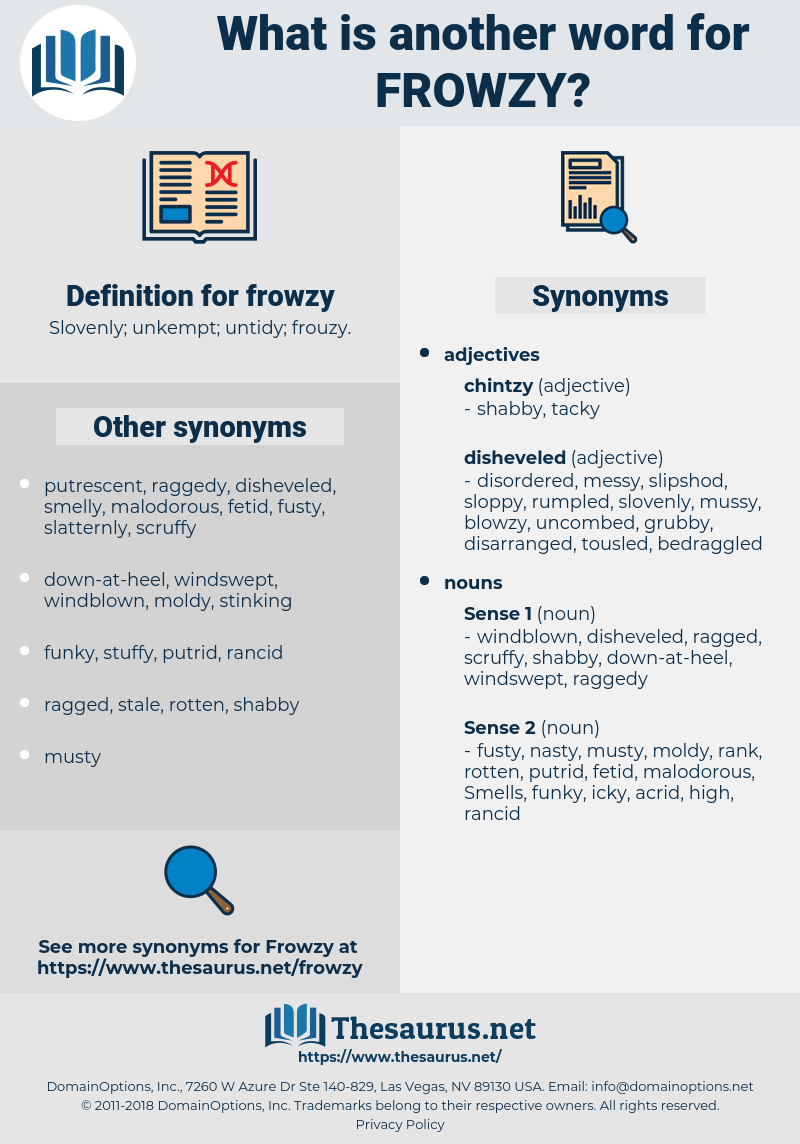 frowzy, synonym frowzy, another word for frowzy, words like frowzy, thesaurus frowzy