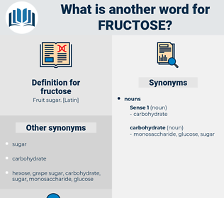 fructose, synonym fructose, another word for fructose, words like fructose, thesaurus fructose