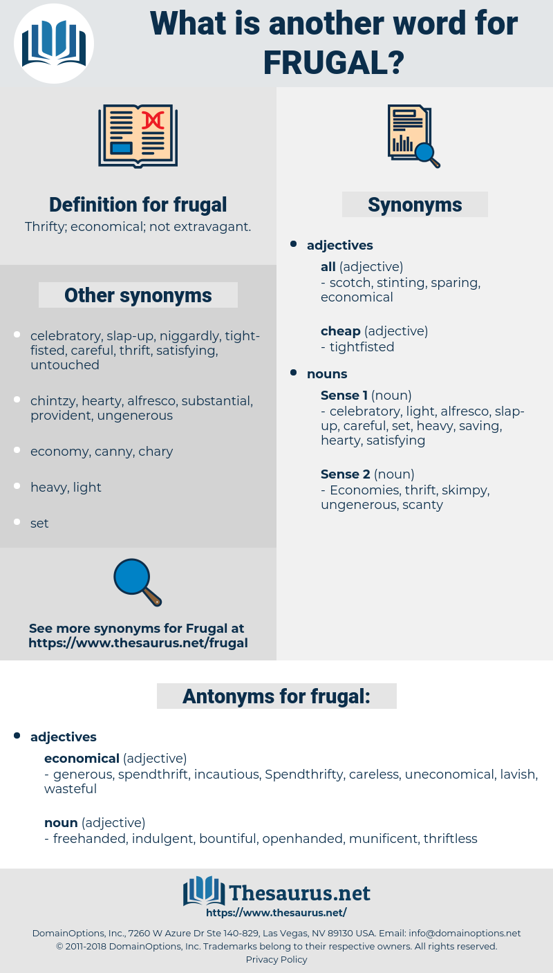 frugal, synonym frugal, another word for frugal, words like frugal, thesaurus frugal