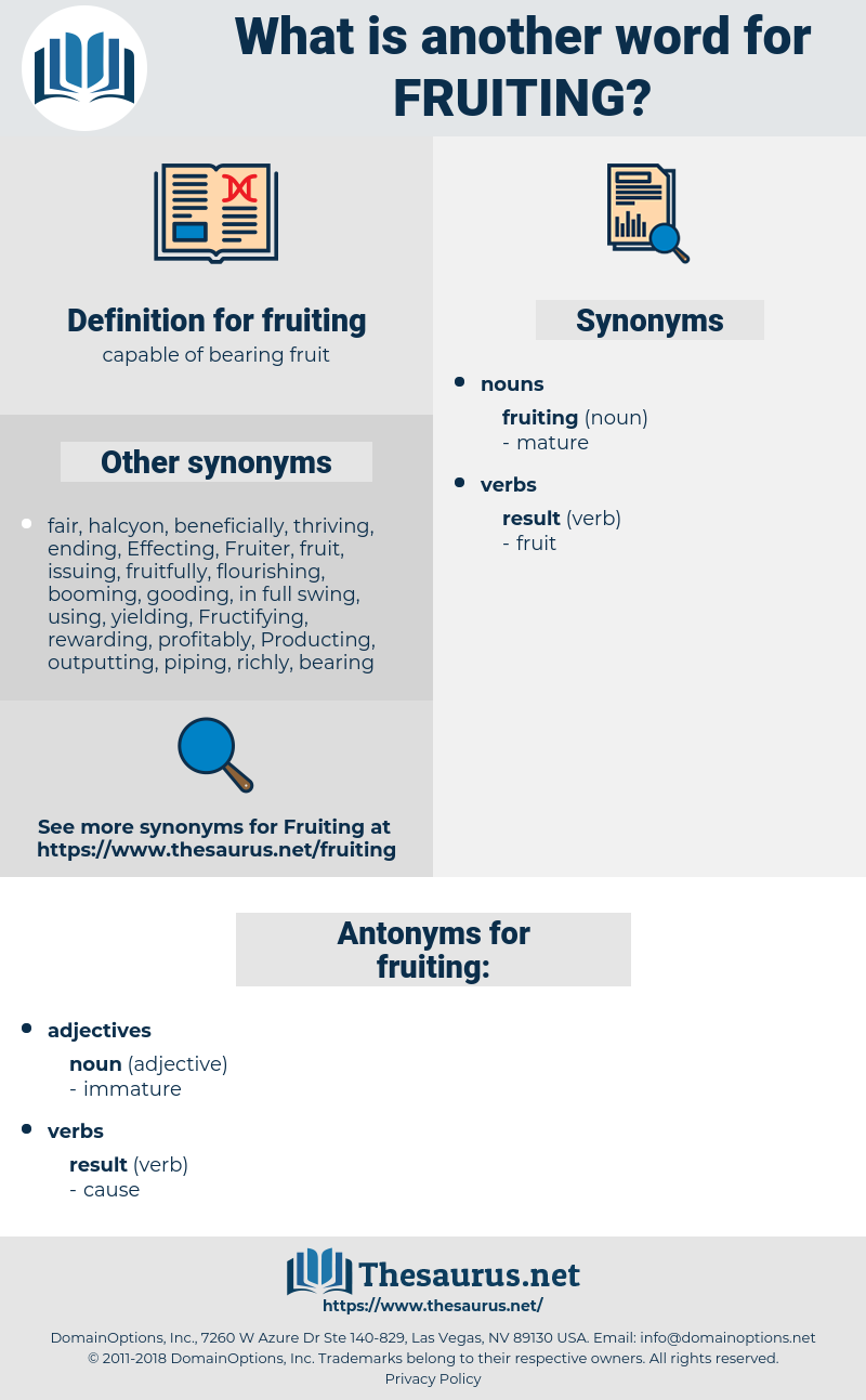 fruiting, synonym fruiting, another word for fruiting, words like fruiting, thesaurus fruiting