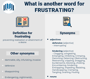 frustrating, synonym frustrating, another word for frustrating, words like frustrating, thesaurus frustrating