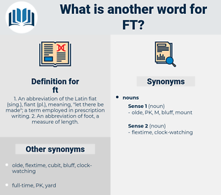 ft, synonym ft, another word for ft, words like ft, thesaurus ft