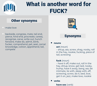 fuck, synonym fuck, another word for fuck, words like fuck, thesaurus fuck