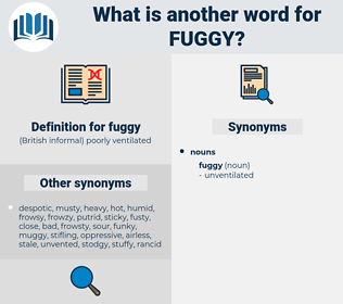fuggy, synonym fuggy, another word for fuggy, words like fuggy, thesaurus fuggy