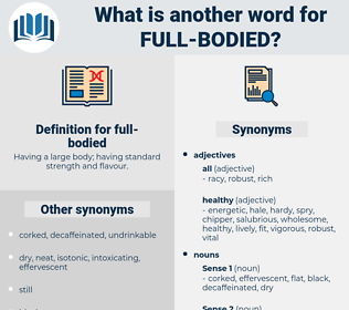 full-bodied, synonym full-bodied, another word for full-bodied, words like full-bodied, thesaurus full-bodied