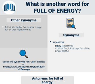 full of energy, synonym full of energy, another word for full of energy, words like full of energy, thesaurus full of energy