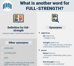 full-strength, synonym full-strength, another word for full-strength, words like full-strength, thesaurus full-strength