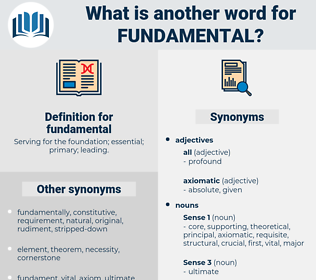 fundamental, synonym fundamental, another word for fundamental, words like fundamental, thesaurus fundamental