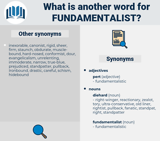 fundamentalist, synonym fundamentalist, another word for fundamentalist, words like fundamentalist, thesaurus fundamentalist
