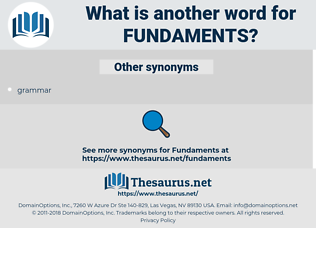 fundaments, synonym fundaments, another word for fundaments, words like fundaments, thesaurus fundaments