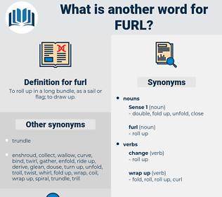 furl, synonym furl, another word for furl, words like furl, thesaurus furl