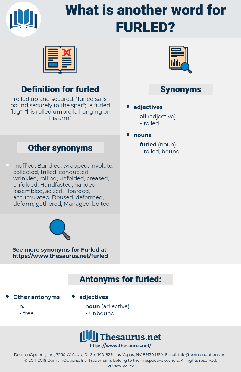 furled, synonym furled, another word for furled, words like furled, thesaurus furled