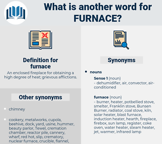 furnace, synonym furnace, another word for furnace, words like furnace, thesaurus furnace