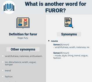 furor, synonym furor, another word for furor, words like furor, thesaurus furor