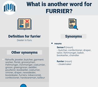 furrier, synonym furrier, another word for furrier, words like furrier, thesaurus furrier
